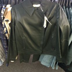Leather jacket, $250 (was $995)