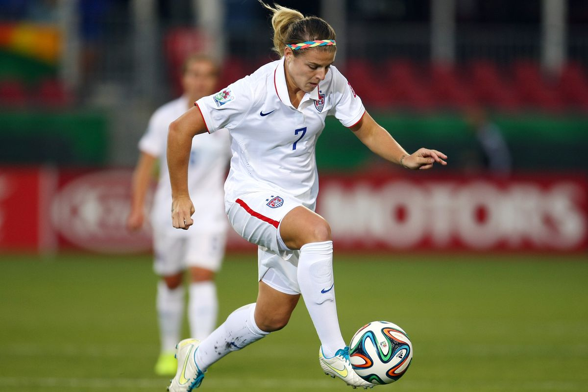 Savannah Jordan, seen here during a FIFA match earlier this year, is one of the players Georgia will face this weekend.