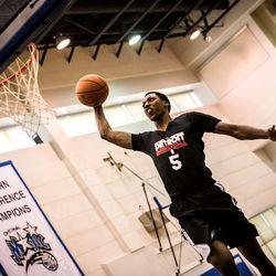 KCP gets a breakaway dunk