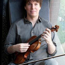 Violinist Joshua Bell performed a two-hour recital at Brigham Young University's de Jong Concert Hall Thursday night.