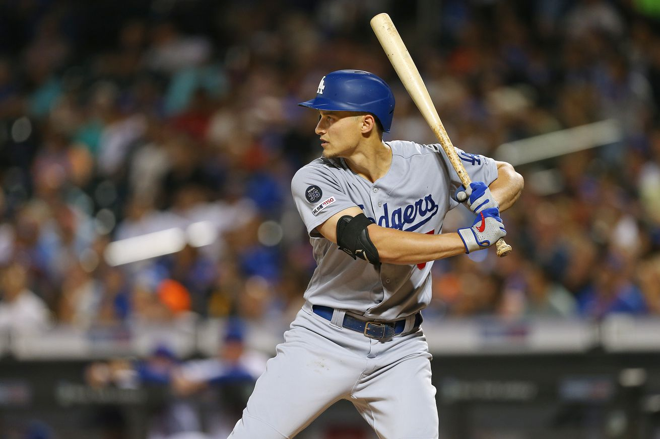 Player of the series: Corey Seager