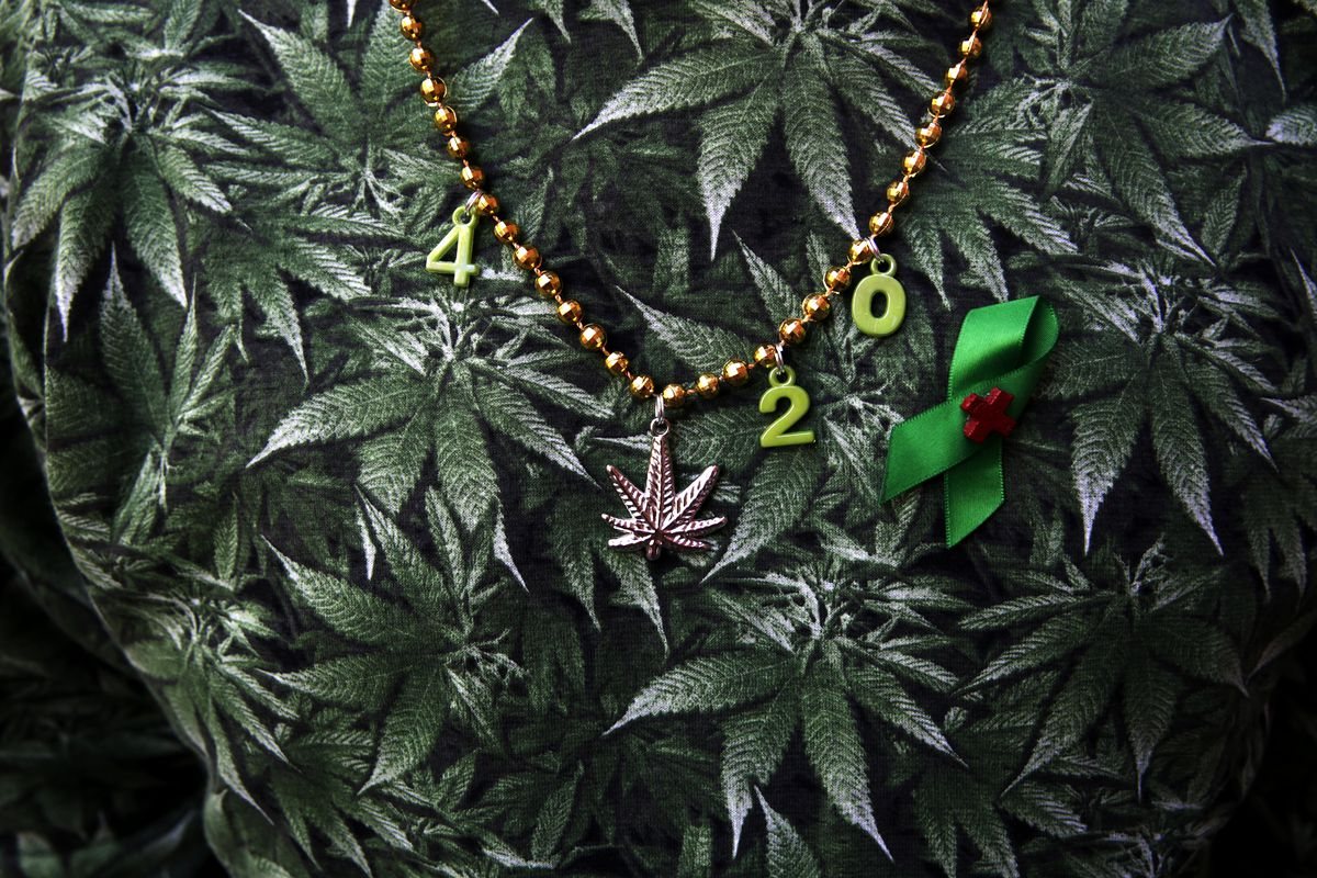 A 4/20 necklace.