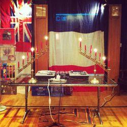 The enchanting DJ set-up