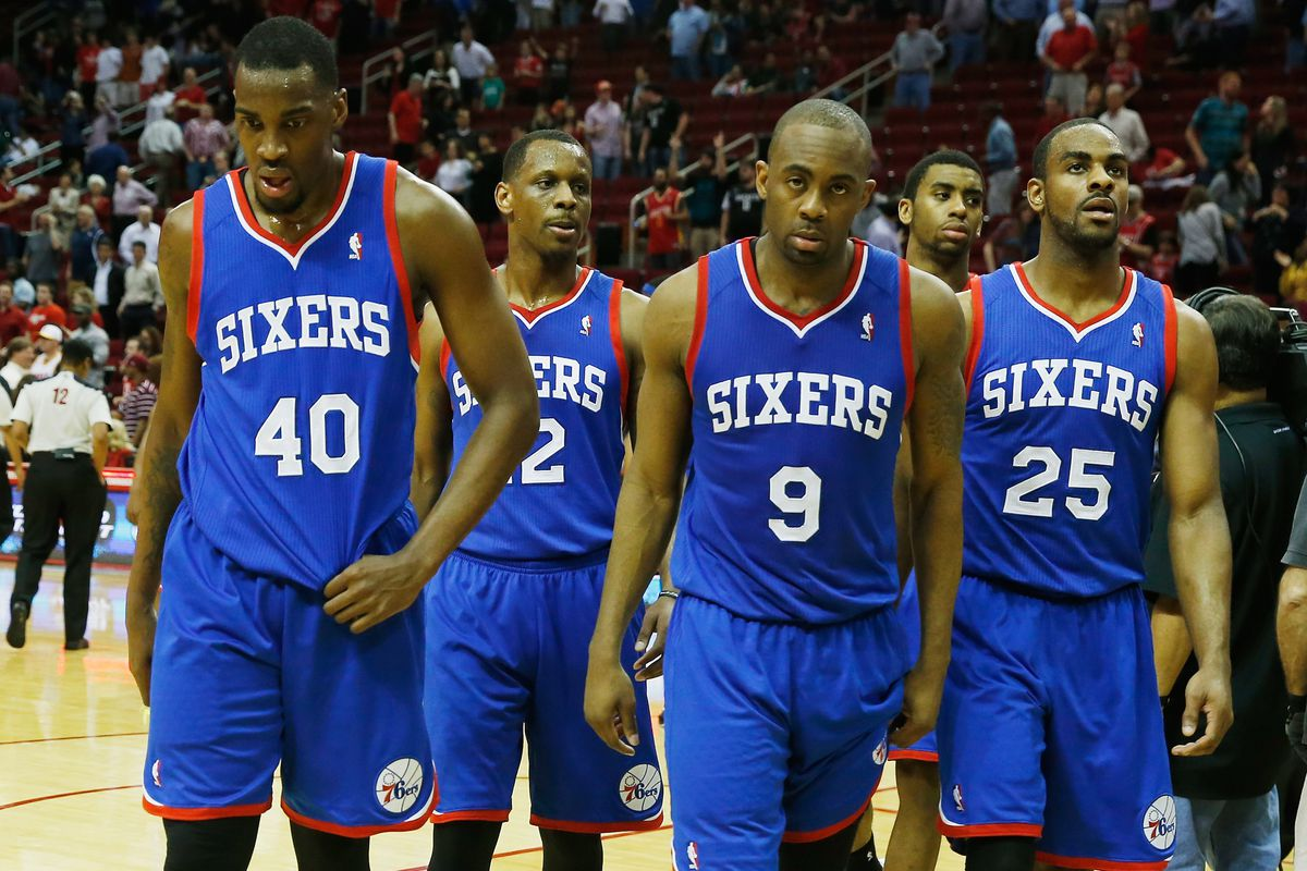 No cheating: can you name any of the 76ers in this picture?