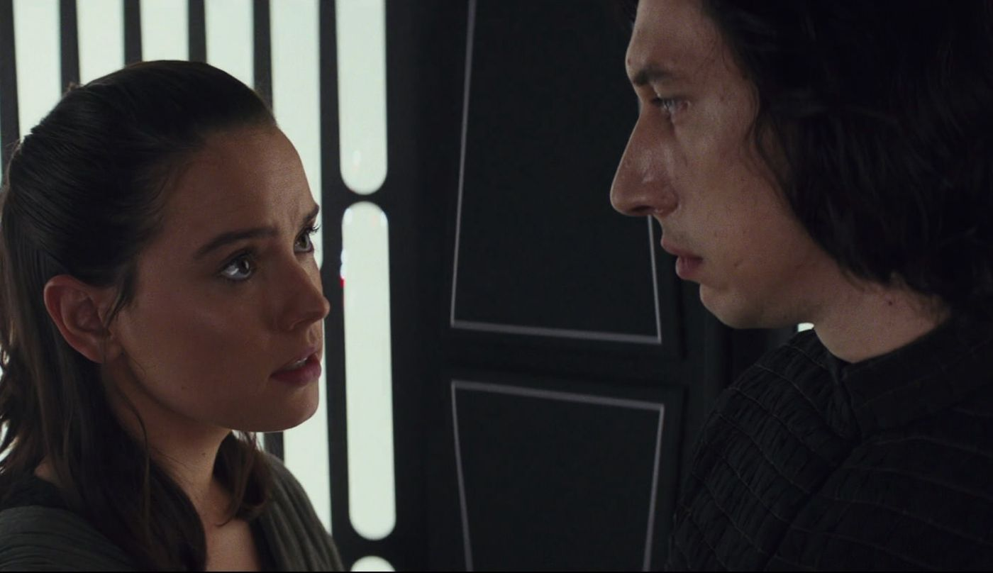 Rise Of Skywalker S Big Rey And Kylo Moment Has Divided Reylo Fandom Polygon