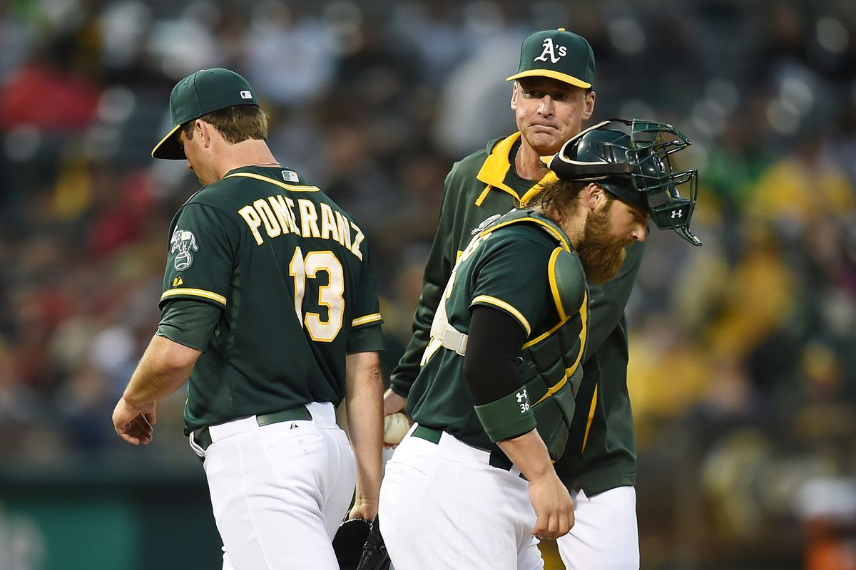 Seconds later, Pomeranz fractured his hand.