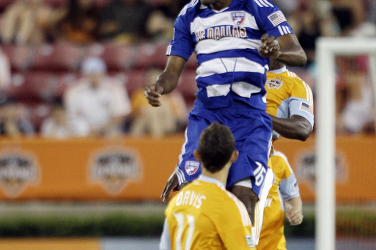 The new-and-improved Atiba Harris is one of the many threats DC United will face at Pizza Hut Park tonight.