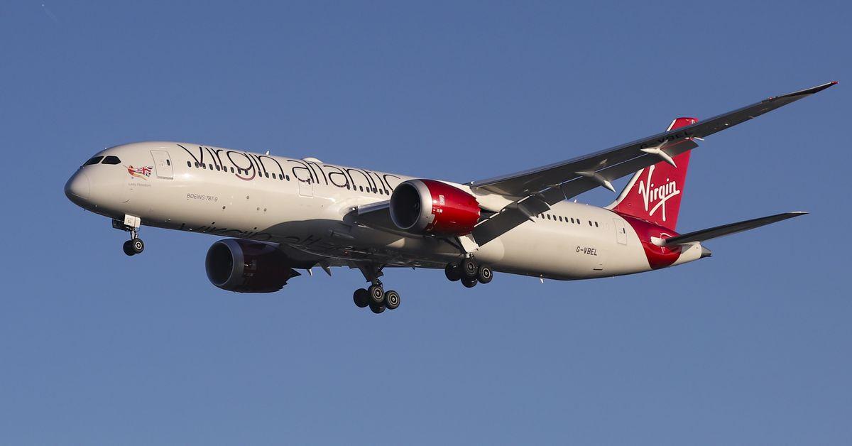 Burning battery pack forces emergency landing of Virgin flight