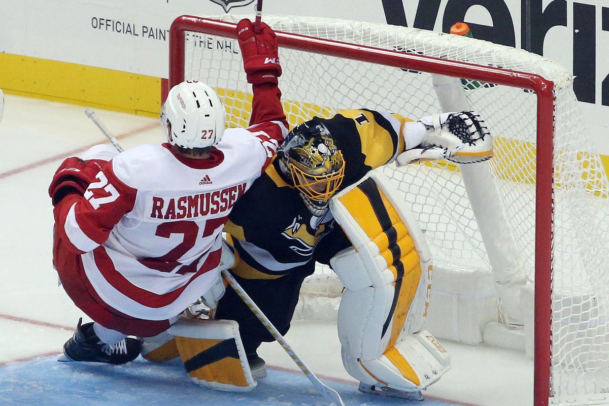 NHL: Preseason-Detroit Red Wings at Pittsburgh Penguins