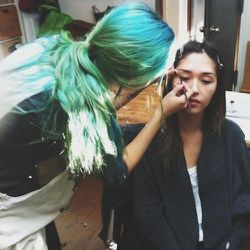 """A clothing line wants to shoot my sister (aka myMCMC Fragrancescoworker) and I as """"real life"""" models. They bring a hair and makeup crew!"""