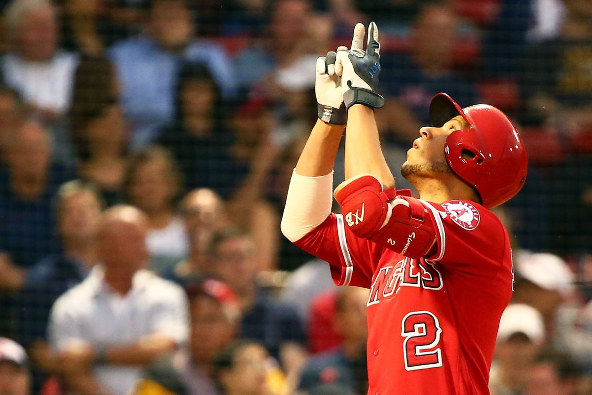 Los Angeles Angels of Anaheim v Boston Red Sox