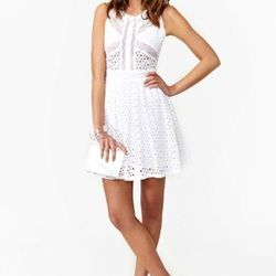 "Spring Standard Dress, $78 at <a href=""http://www.nastygal.com/product/spring-standard-dress"">Nasty Gal</a>"