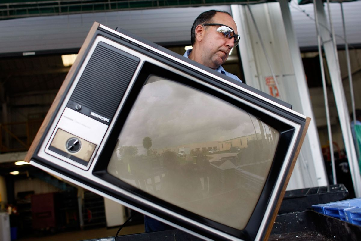 TV sets are starting to disappear from American homes