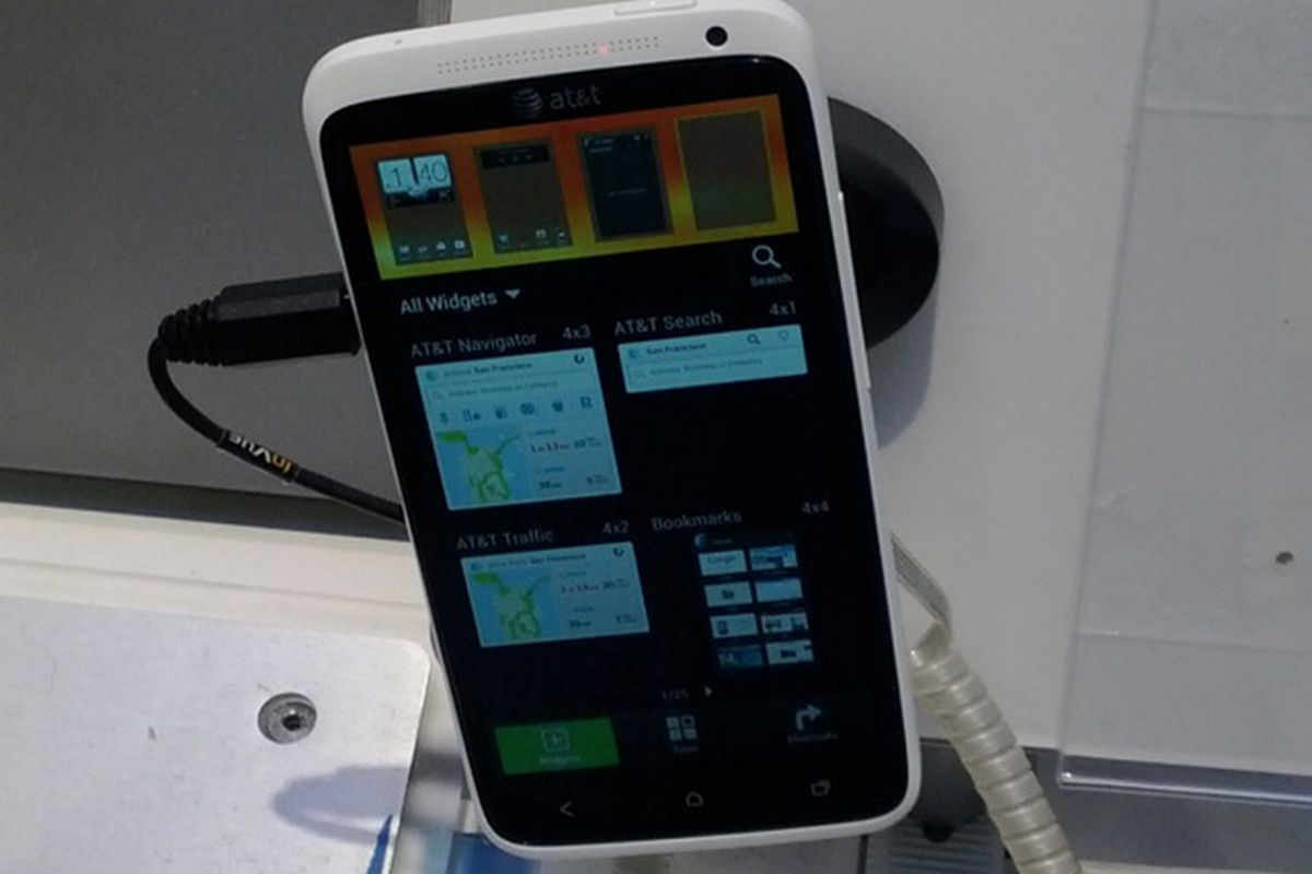 AT&T HTC One X demo unit (ANDROID CENTRAL)
