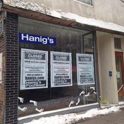 Hanig's closed on December 31.