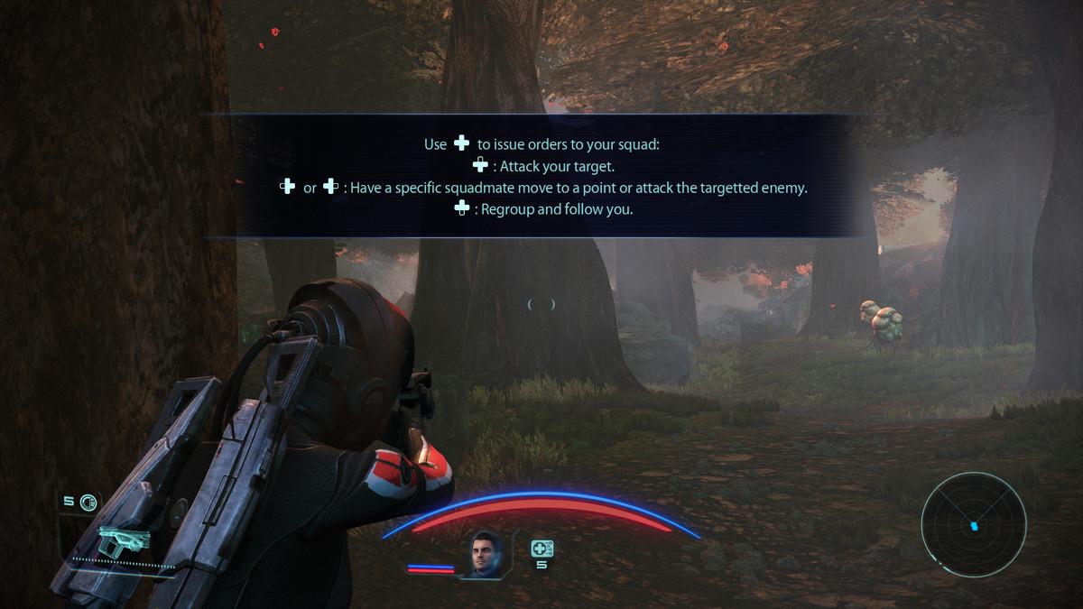 Mass Effect squad command