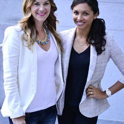 """Brittany Hebb and Whitney Powell of <a href=""""http://www.BrittandWhit.com""""target=""""_blank"""">Britt & Whit</a>: """"Don't be afraid to ask for what you want, whether that relates to responsibilities, promotions, or salaries.  It is important to go after your goal"""