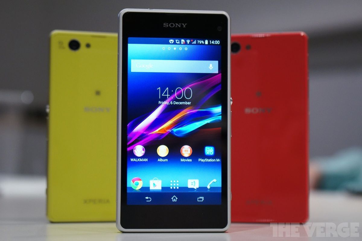fa9236666ccb Sony heeds the call for a small superphone with Xperia Z1 Compact ...