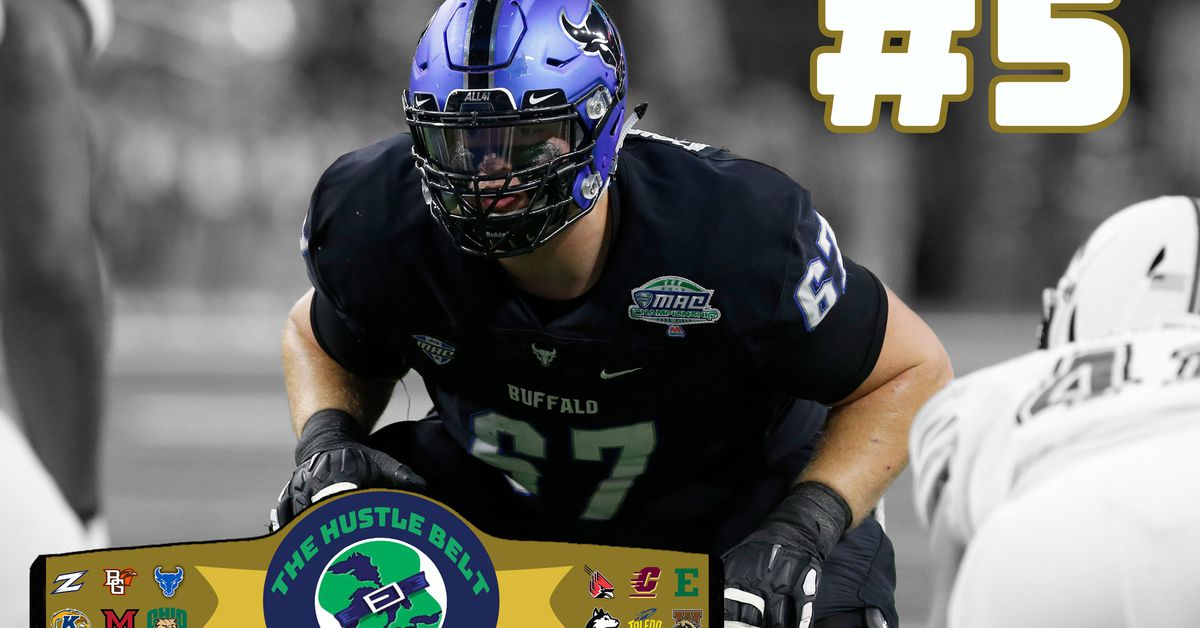 2019 Top 25 MAC Players: #5 Evin Ksiezarczyk, OT, Buffalo
