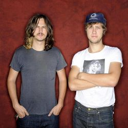 FILE - This July 26, 2012 file photo shows Nashville rock band JEFF the Brotherhood, from left, Jake Orrall and Jamin Orrall at Fanny's House of Music in Nashville. A town regarded as the capital of country music, Nashville is becoming the nation's hottest rock 'n' roll scene with homegrown bands like JEFF the Brotherhood.