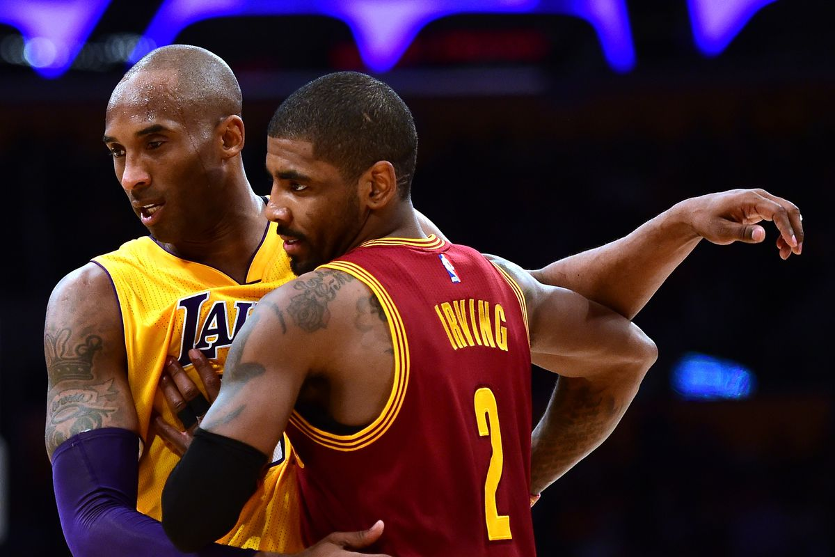 Kyrie Irving challenges Kobe Bryant to 1-on-1 game, Kobe ...