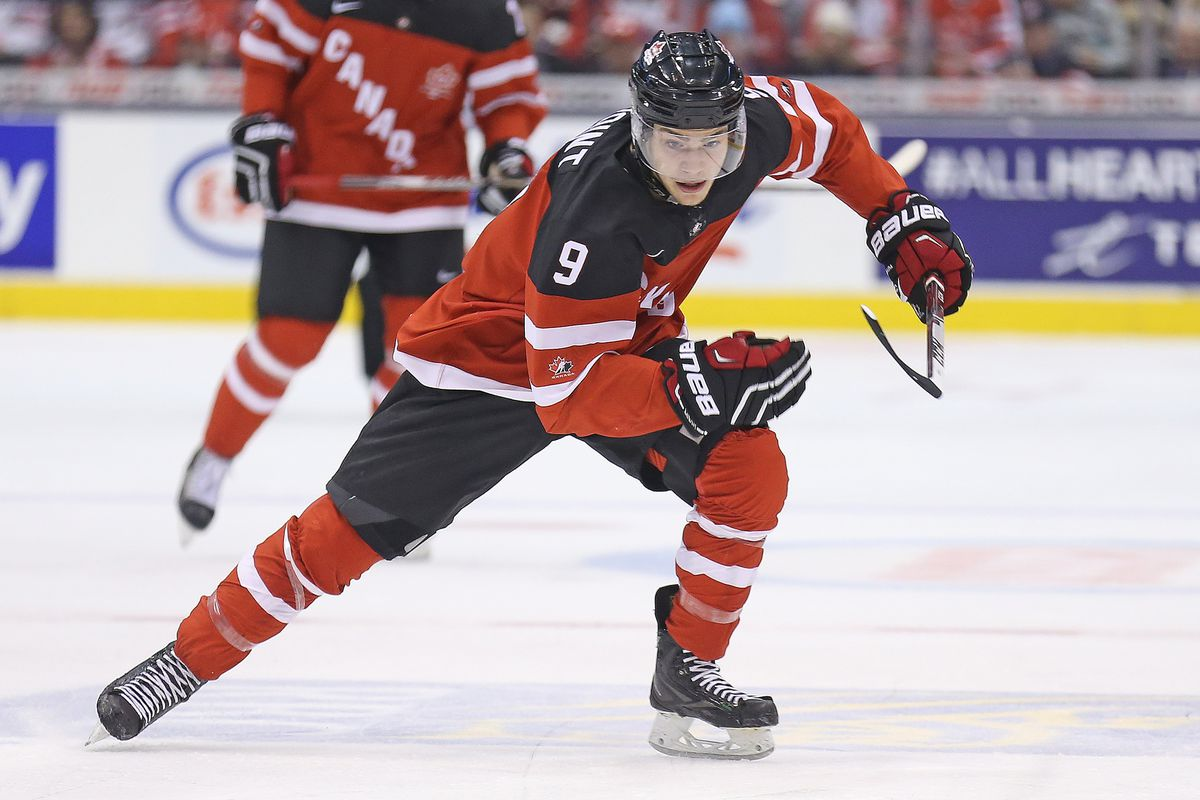 Brayden Point scored the shootout winner for Canada