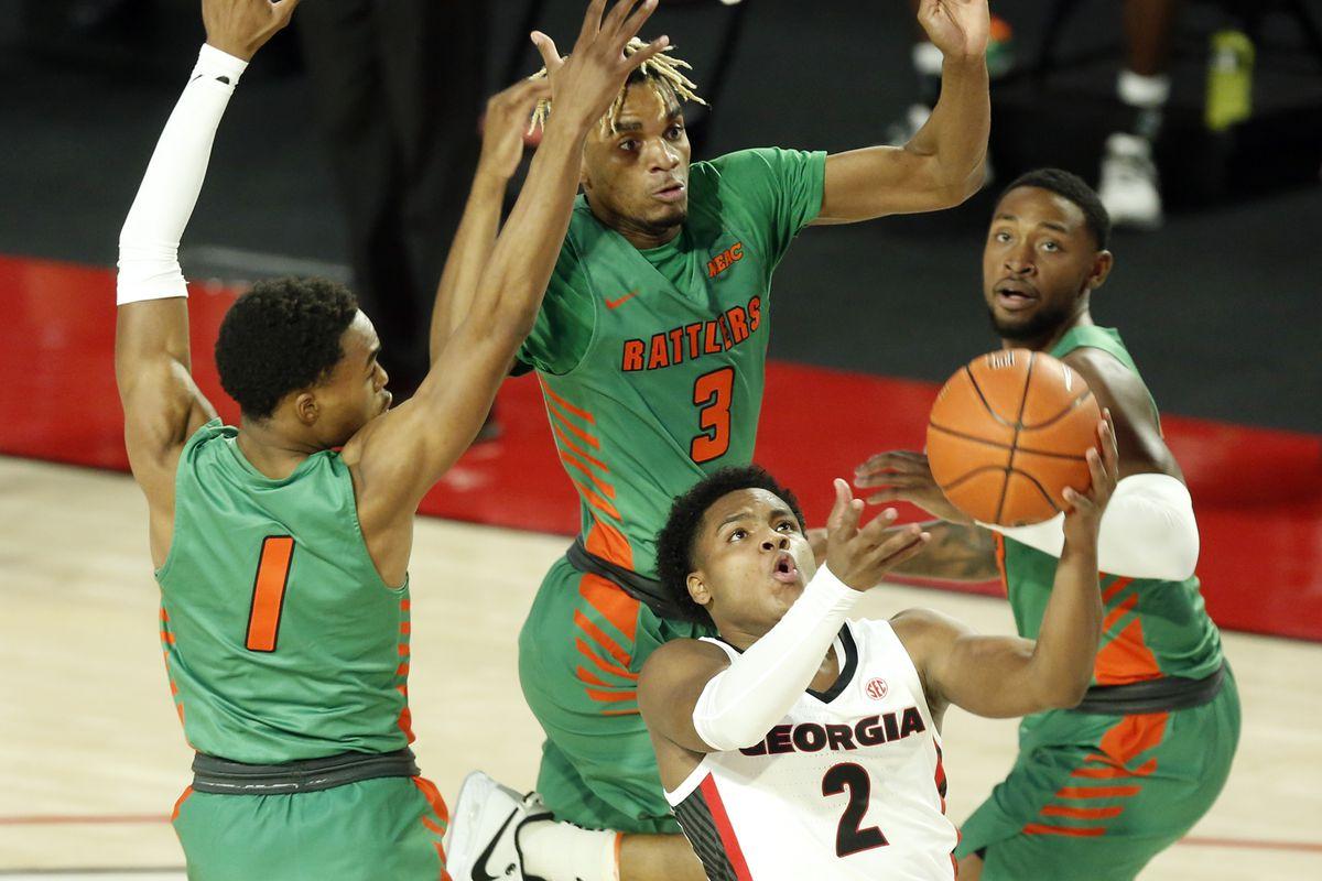 NCAA Basketball: Florida A&M at Georgia