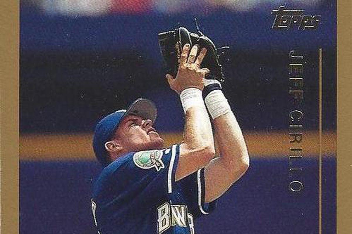 Cirillo's 1999 Topps card, #89