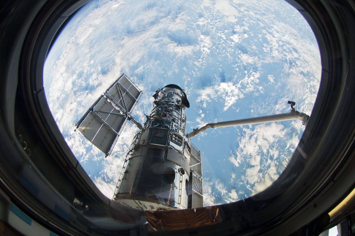 NASA's Hubble Space Telescope is offline after a steering