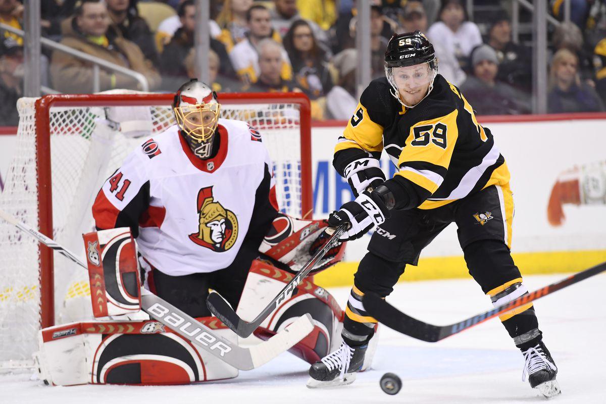 28c0244e1a5 Pittsburgh vs. Ottawa Recap  Too strong Pens put up 6 goals to overwhelm  Sens