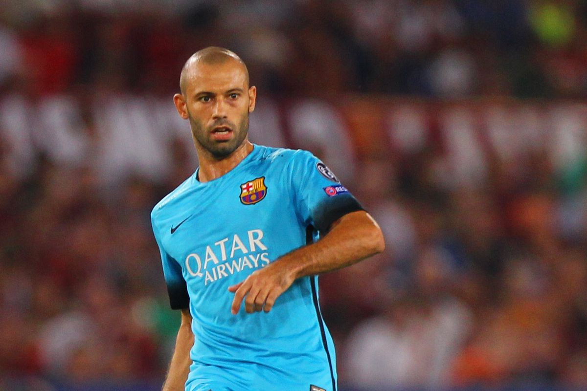 Javier Mascherano Shows his Good and Bad Sides as Barcelona Beat
