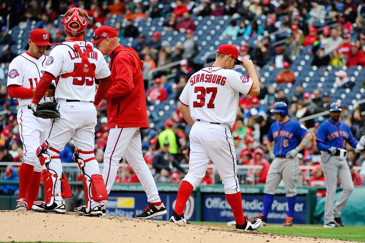 Stephen Strasburg didn't have a great day Thursday, but to blame him for his terrible BABIP luck after Ian Desmond's error seems foolish.