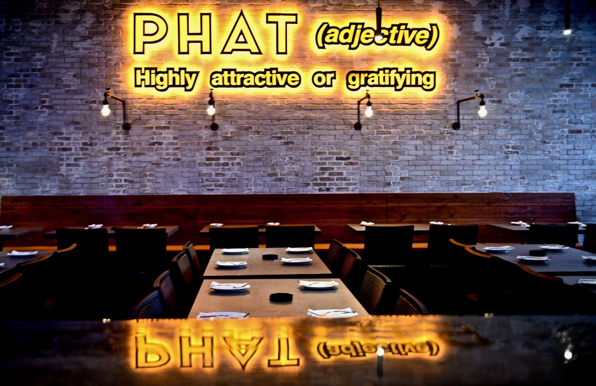 Interior at Phat Eatery