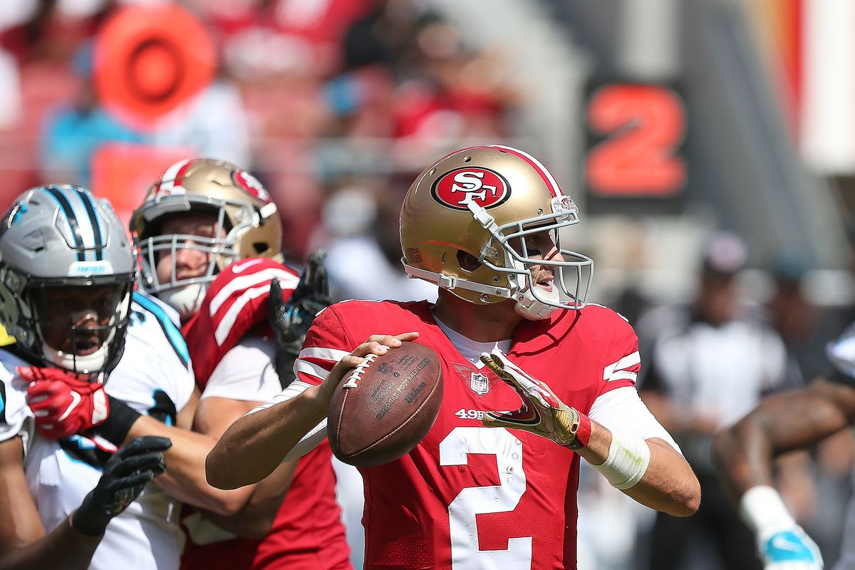 NFL: SEP 10 Panthers at 49ers