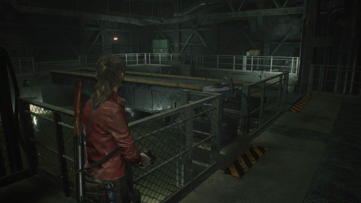 Resident Evil 2 Treatment Pool Room