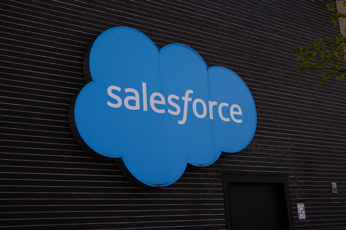 the Salesforce logo