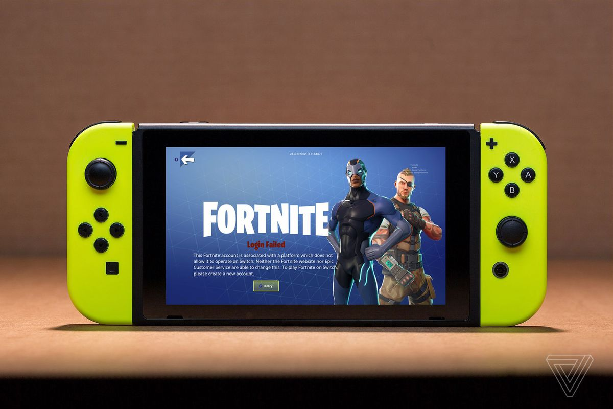 Fortnite on the Switch makes Sony's cross-play policy look even more