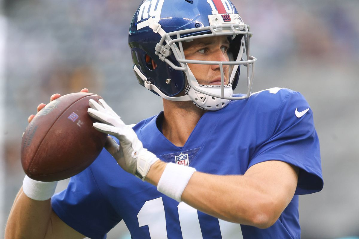Giants At Browns Eli Manning Likely To Play Into Second Quarter