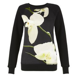 Sweatshirt in Orchid Print, $29.99 (Available on Net-A-Porter)