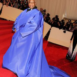 Andre Leon Talley being Andre Leon Talley