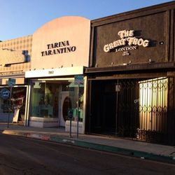 After you've satisfied your palate, make your way down to <b>The Great Frog</b> (7955 Melrose Ave) for some shopping. The cool boutique is stocked with hand-carved jewelry that boast an edgy rocker vibe. Big names like Travis Baker, Johnny Depp and Lady G