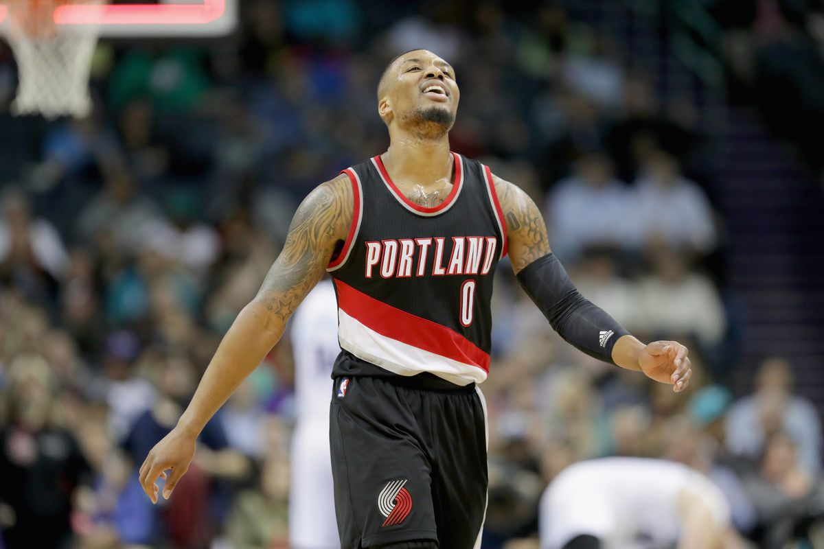 the best attitude e28e2 83faf Damian Lillard got snubbed from the NBA All-Star Game for ...