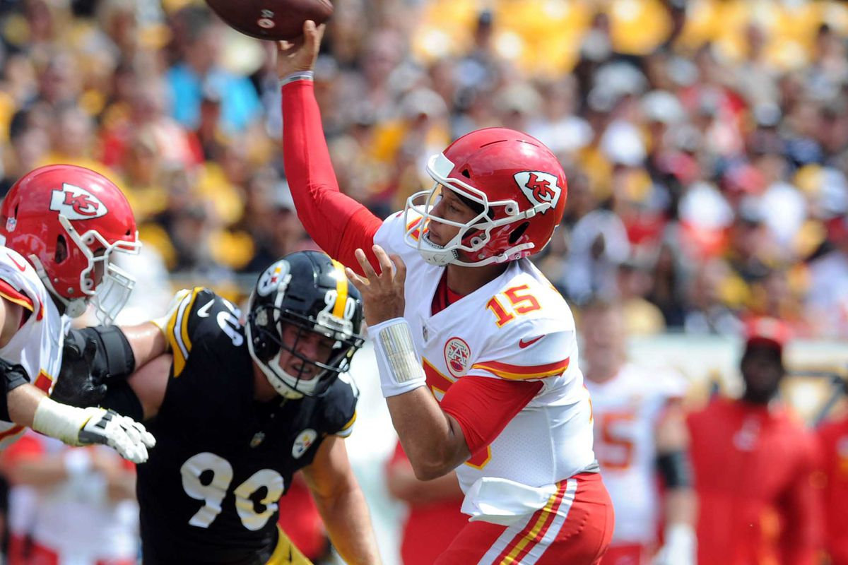 Steelers Vs Chiefs Score Patrick Mahomes Impresses In 42