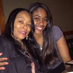 Cheyenne Parker and her mother, Verna Bryant, pose for a photo. | Provided