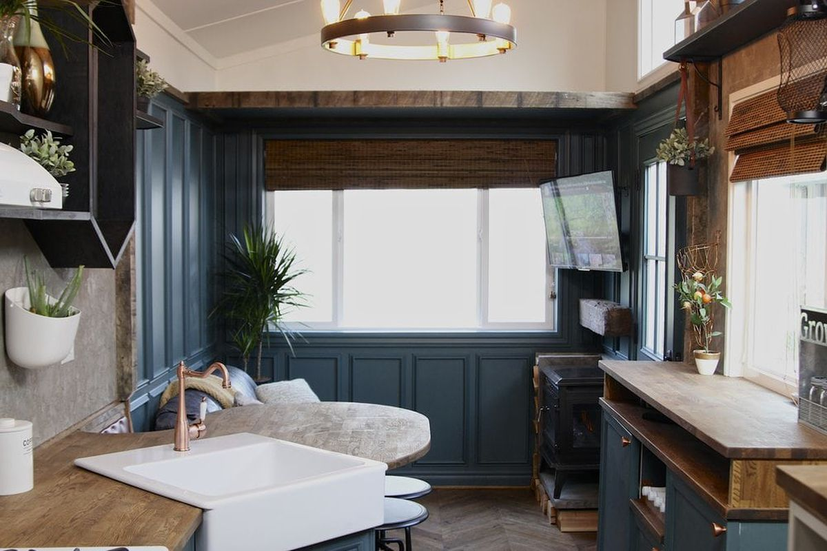 Craftsman tiny house goes big on details curbed for New craftsman homes for sale