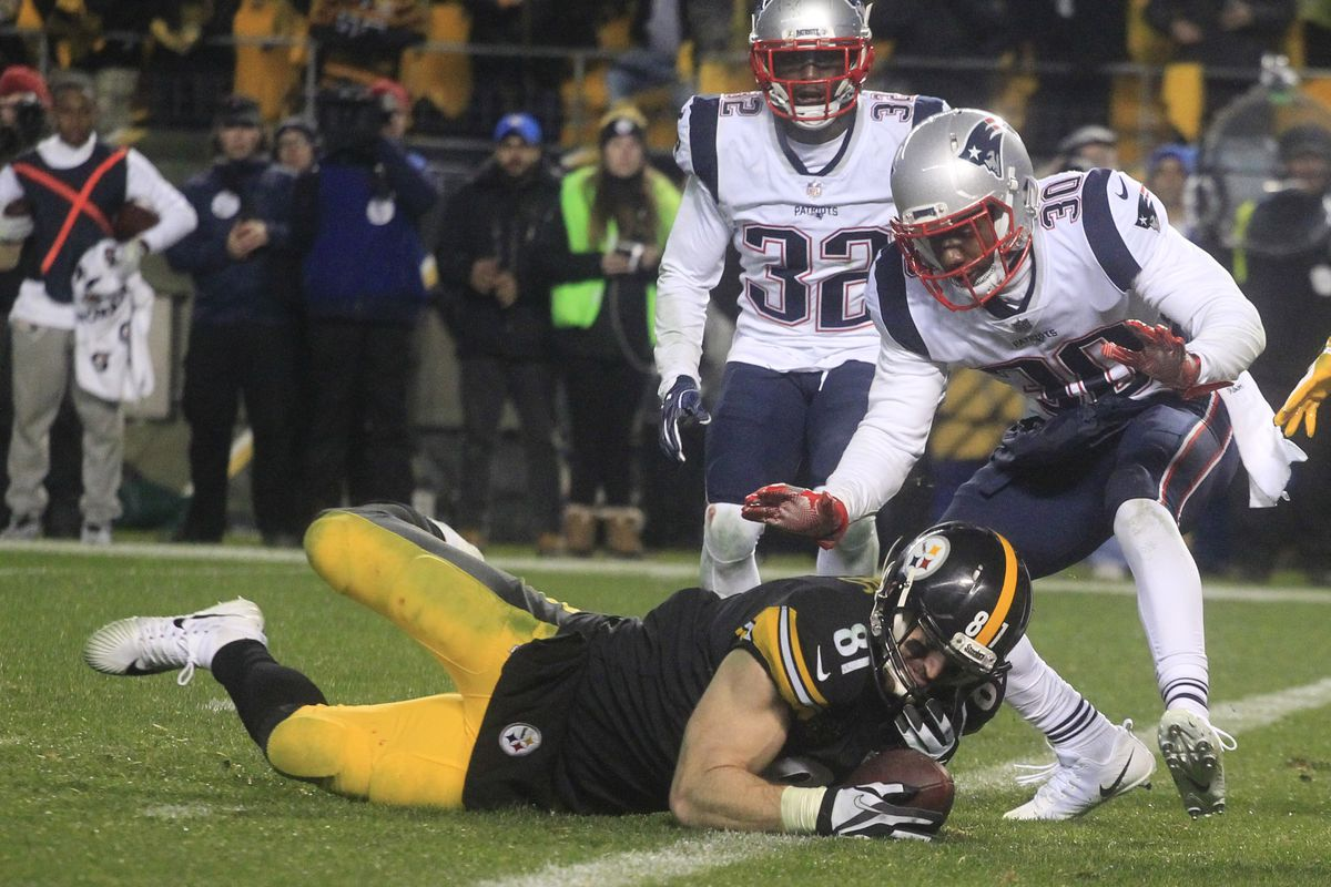 Jesse James's grab was ruled incomplete.