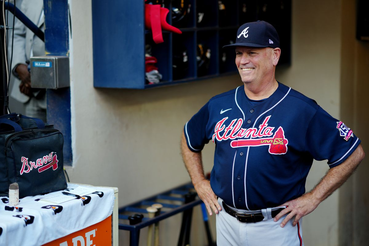 Division Series - Atlanta Braves v Milwaukee Brewers - Game Two