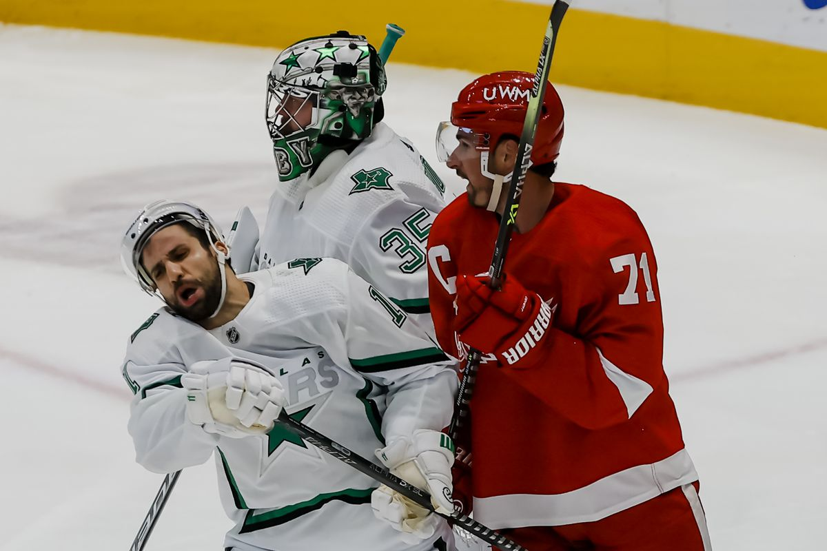 NHL: APR 19 Red Wings at Stars