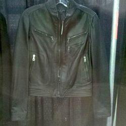 Rag & Bone leather jacket, $599