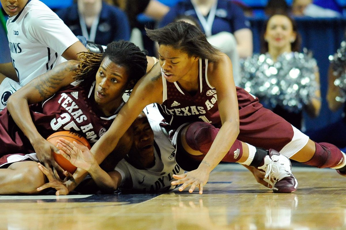 Achiri Ade and Courtney Williams helped the Ags hold on to a win vs Arkansas State